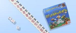 Spelletjes top 5 - Regenwormen dobbelspel is het gezinsspel