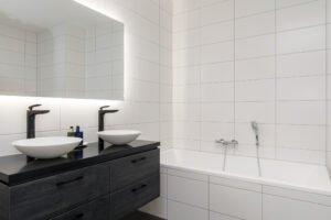 Blog nieuwe badkamer met producten van Solid Surface van Sanisolid
