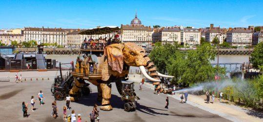 Het Gezinsleven - Vakanties - Stedentrips - De mooiste bezienswaardigheden van Nantes - Les Machines de L'île, le Grand Élephant - Loire-Atlantique