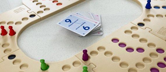 Keezen spel Keezbord